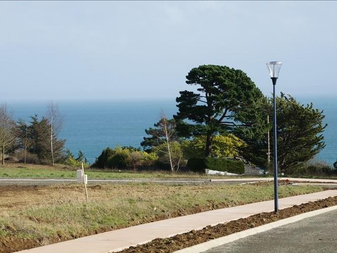 A vendre Terrain 1003 m² vue mer Binic